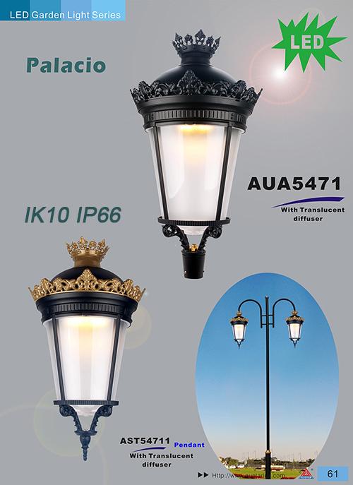 China Villa luminaires,Palacio Fernandino IK10 IP66