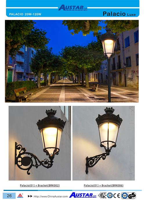 High Quality Urban light Palacio NEW luminaire,Fernandino luminaire, IP66 IK10